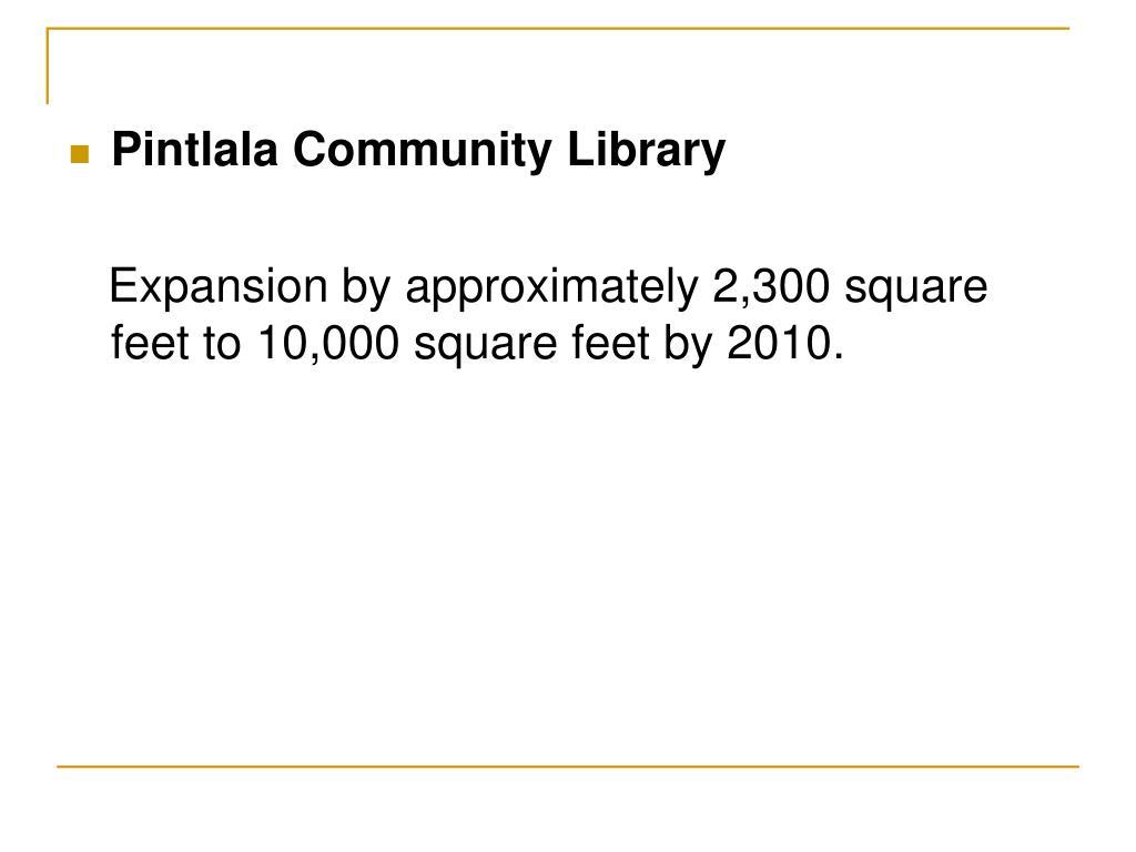 Pintlala Community Library