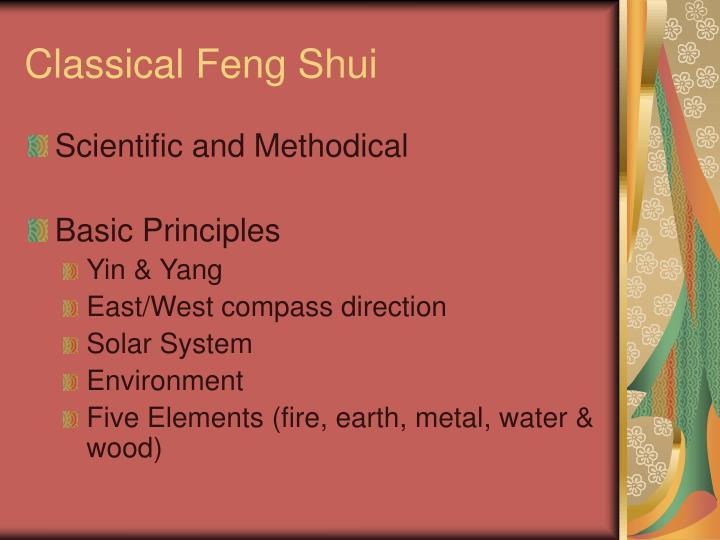 Classical feng shui