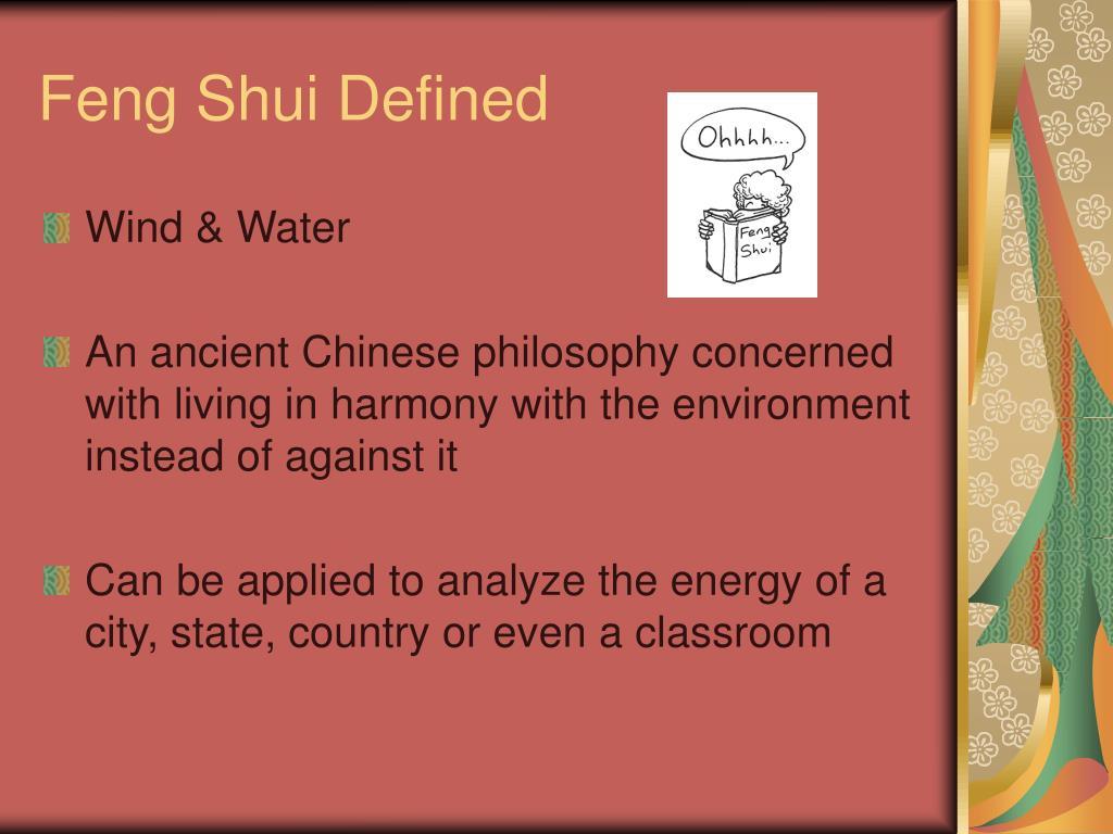 Feng Shui Defined