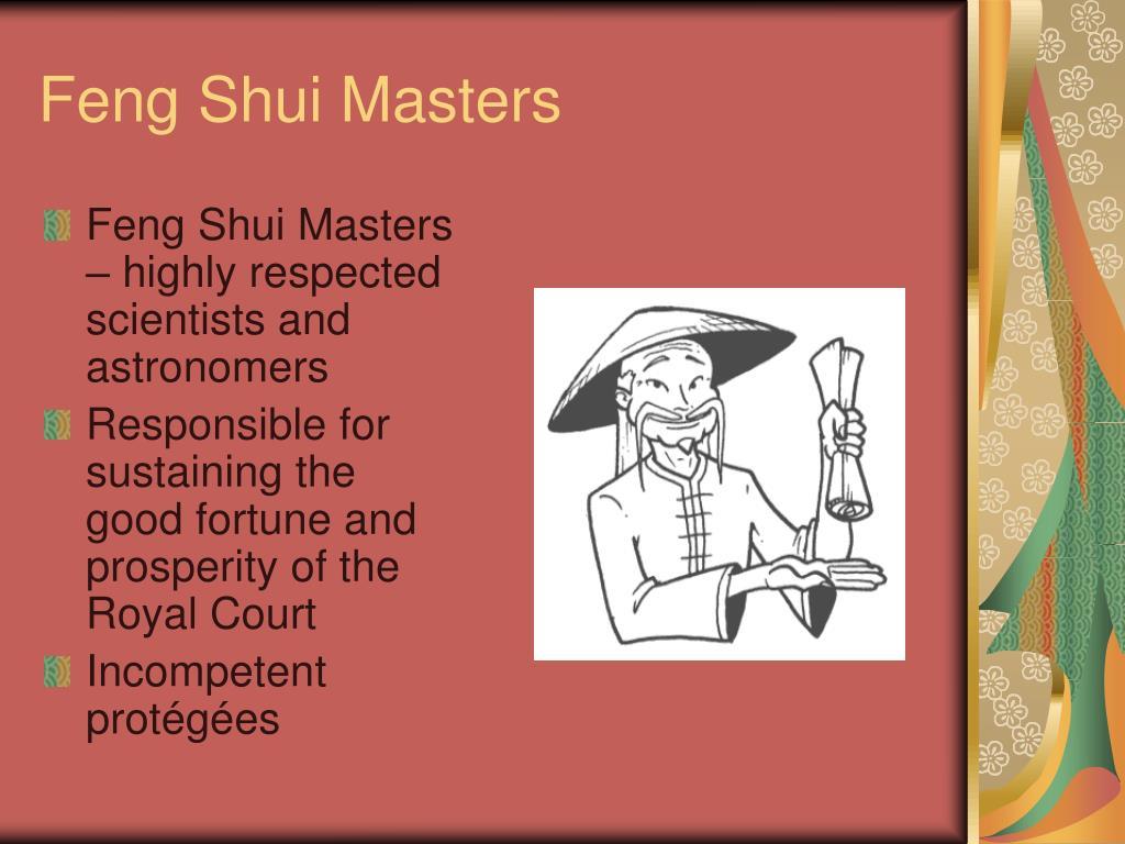 Feng Shui Masters