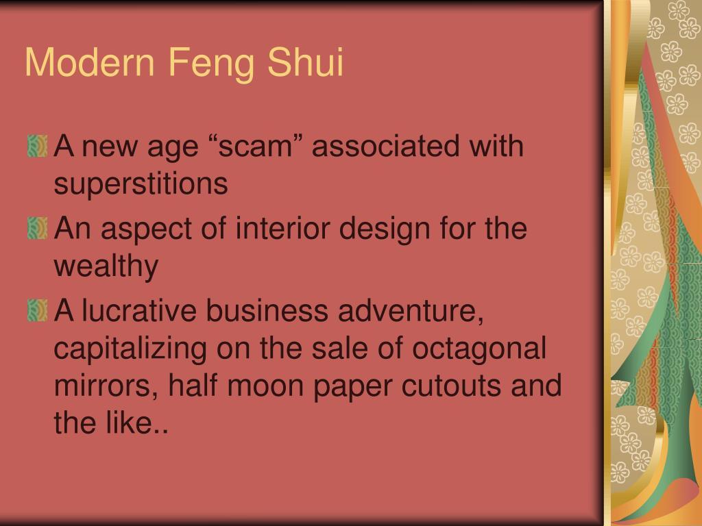 Modern Feng Shui