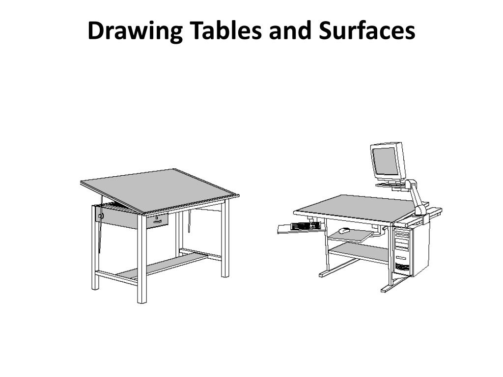 Drawing Tables and Surfaces