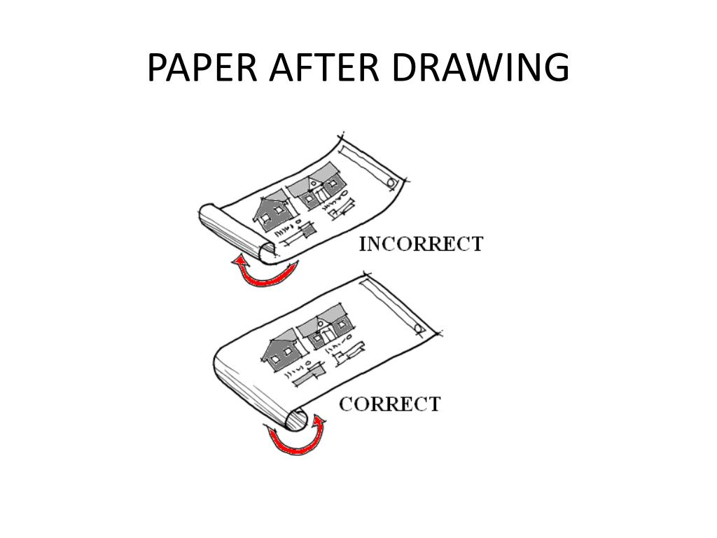 PAPER AFTER DRAWING