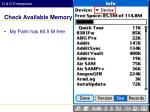 check available memory2