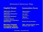 minnesota e democracy today
