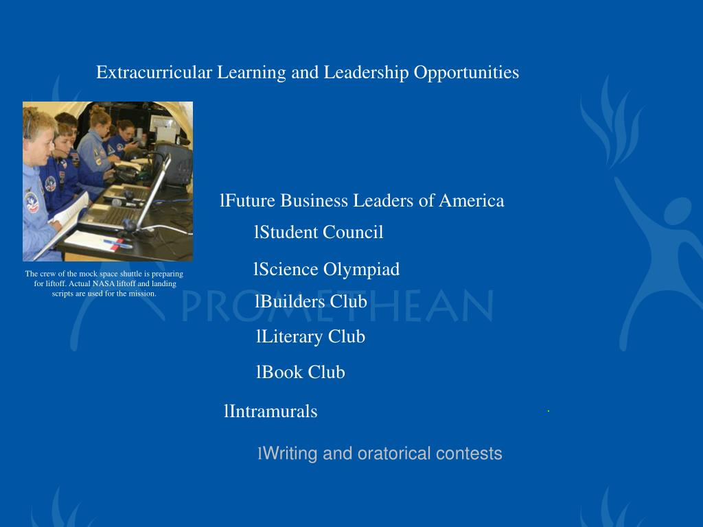 Extracurricular Learning and Leadership Opportunities