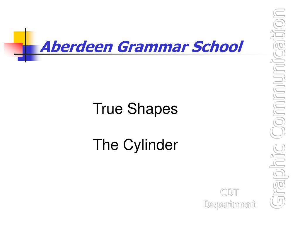 aberdeen grammar school l.