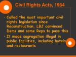 civil rights acts 1964