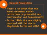 sexual revolution79