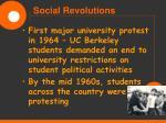 social revolutions