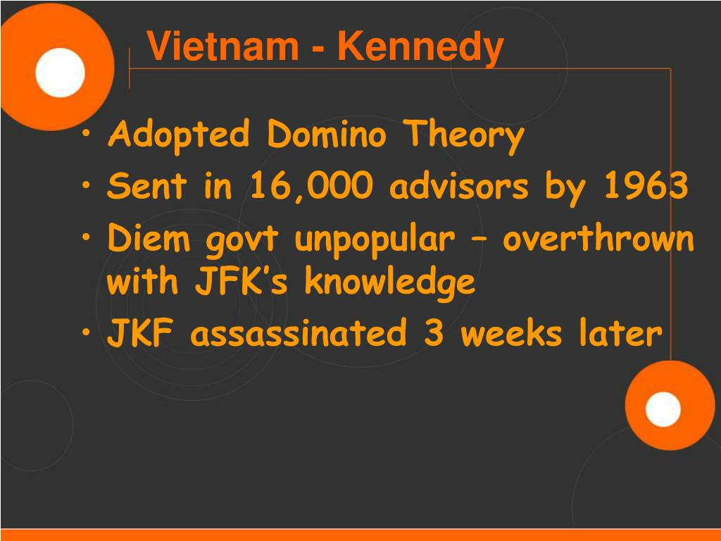 Adopted Domino Theory