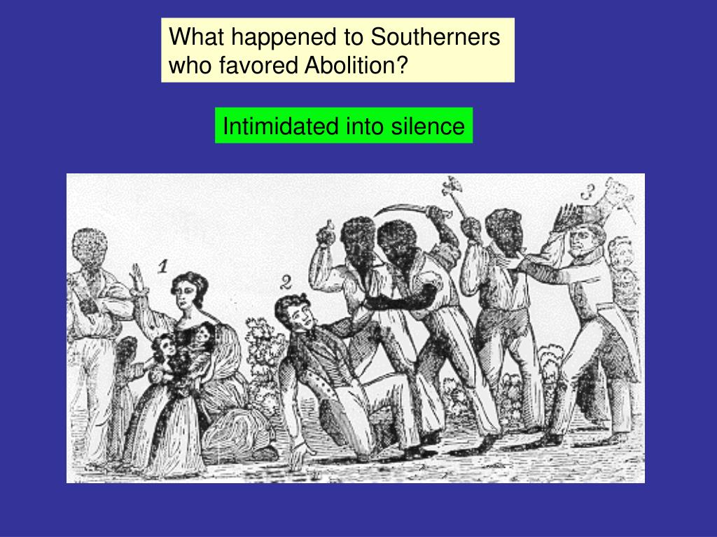 What happened to Southerners