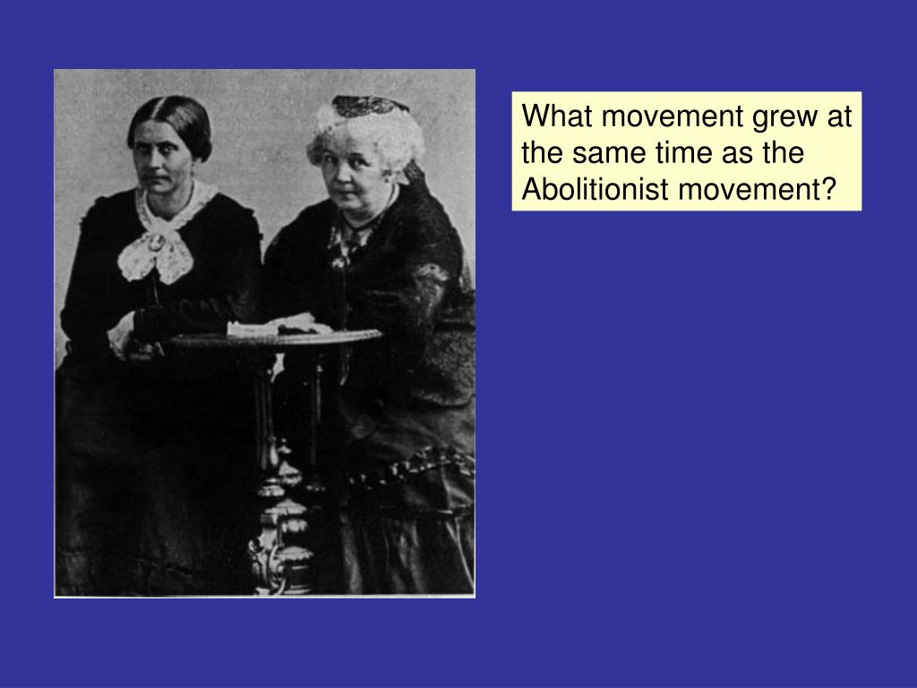 What movement grew at