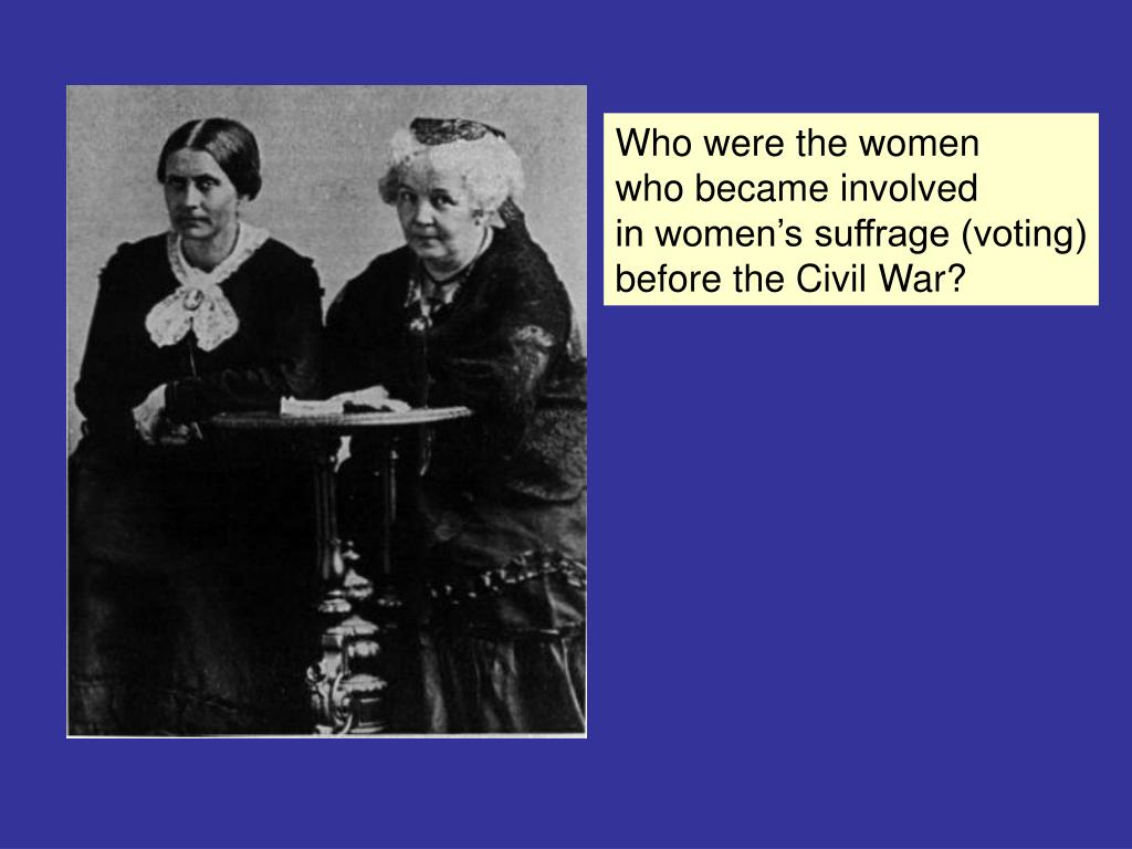 Who were the women
