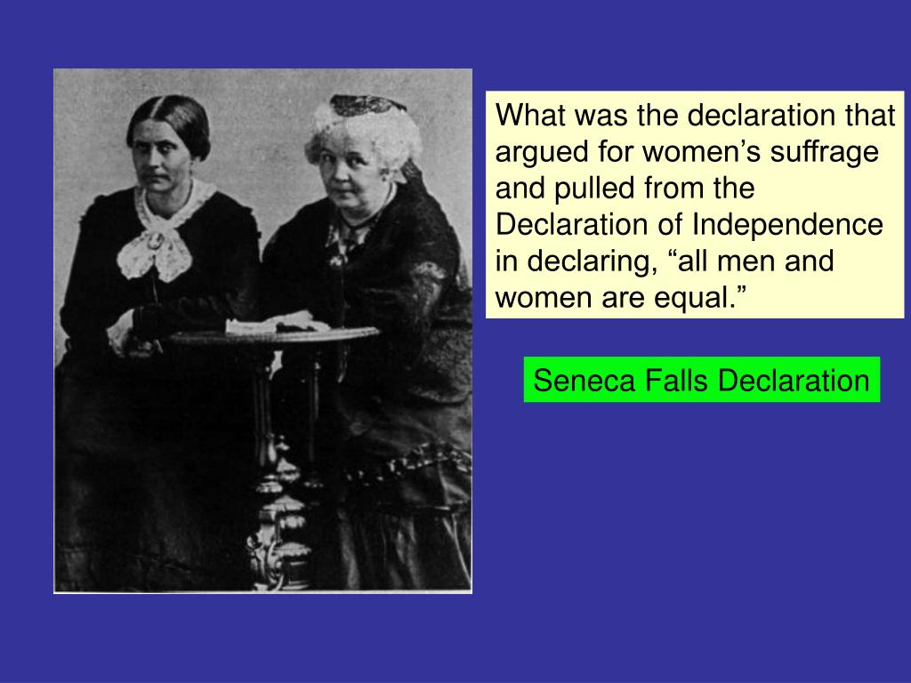 What was the declaration that