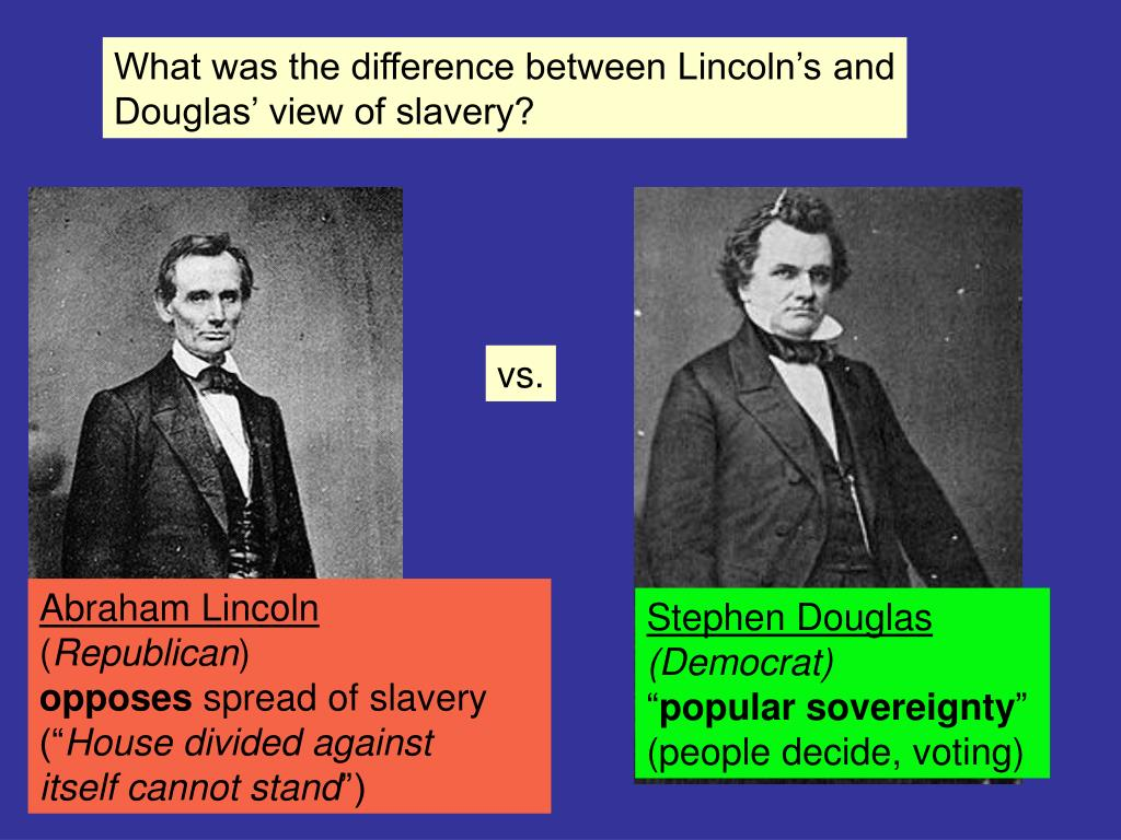 What was the difference between Lincoln's and