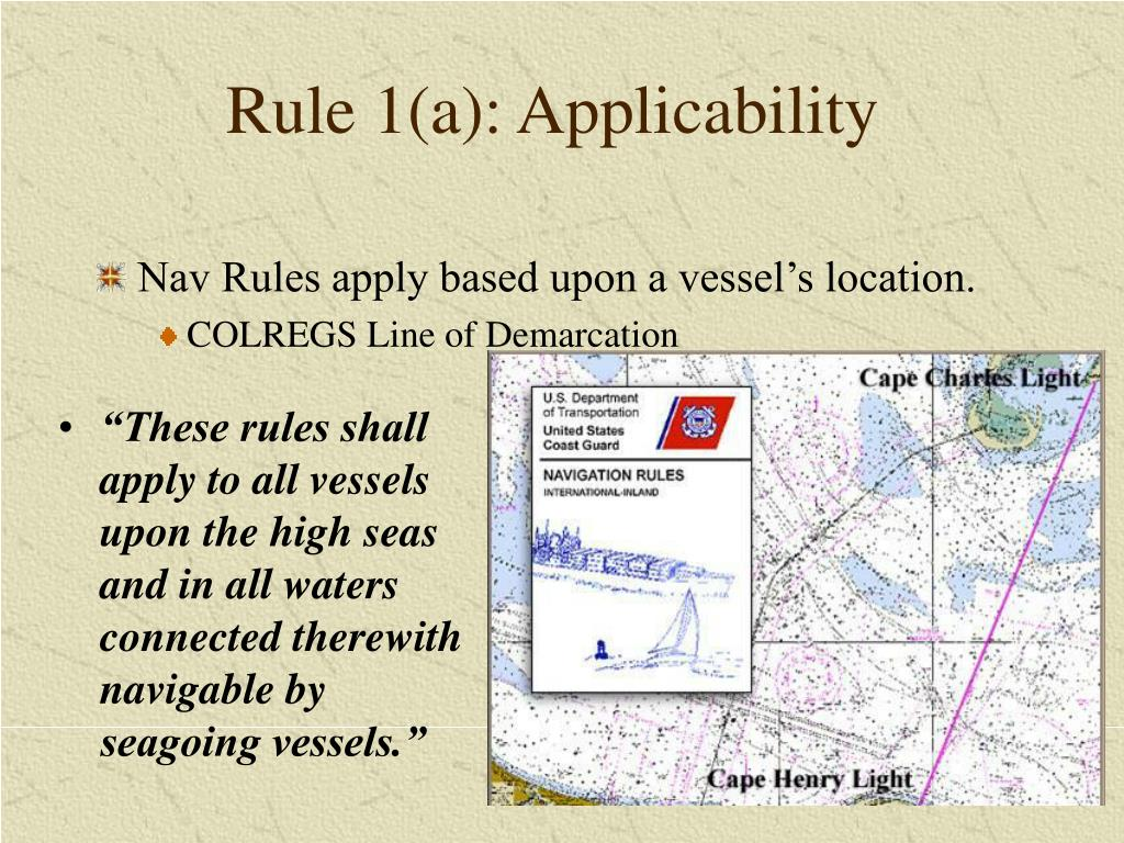 Rule 1(a): Applicability