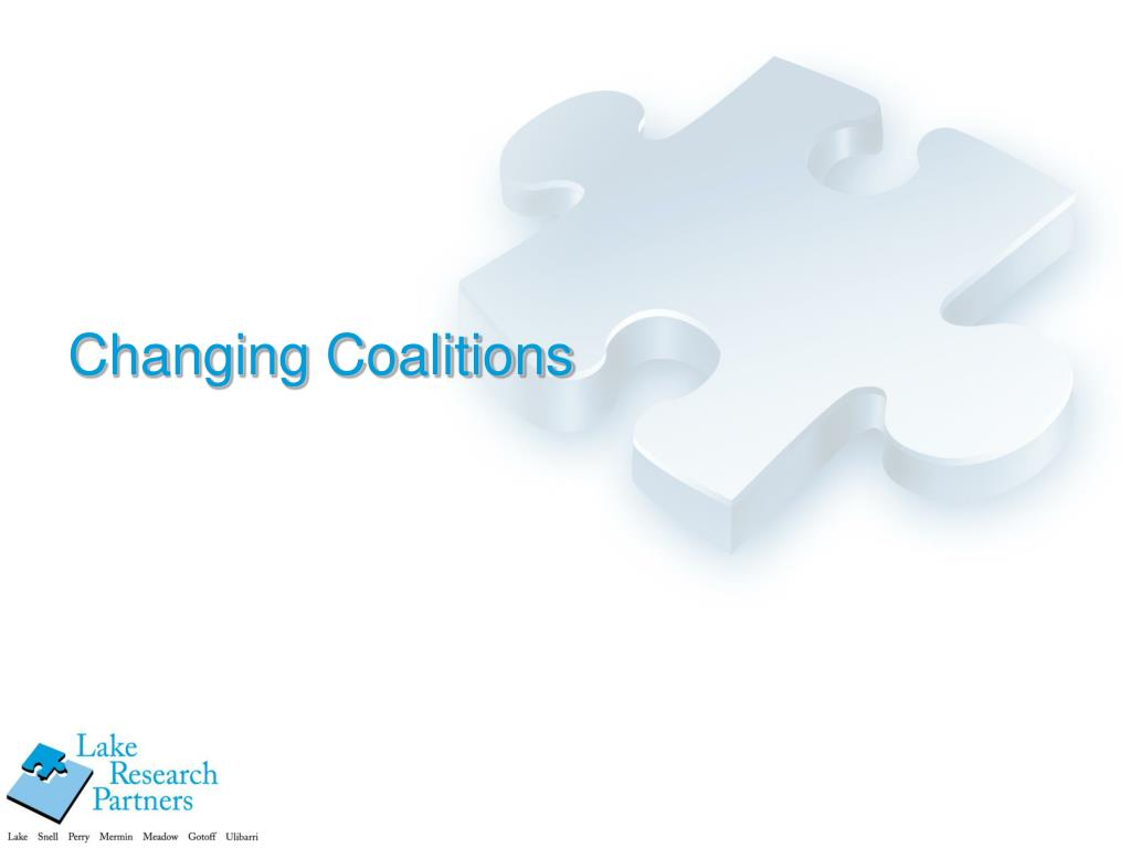 Changing Coalitions