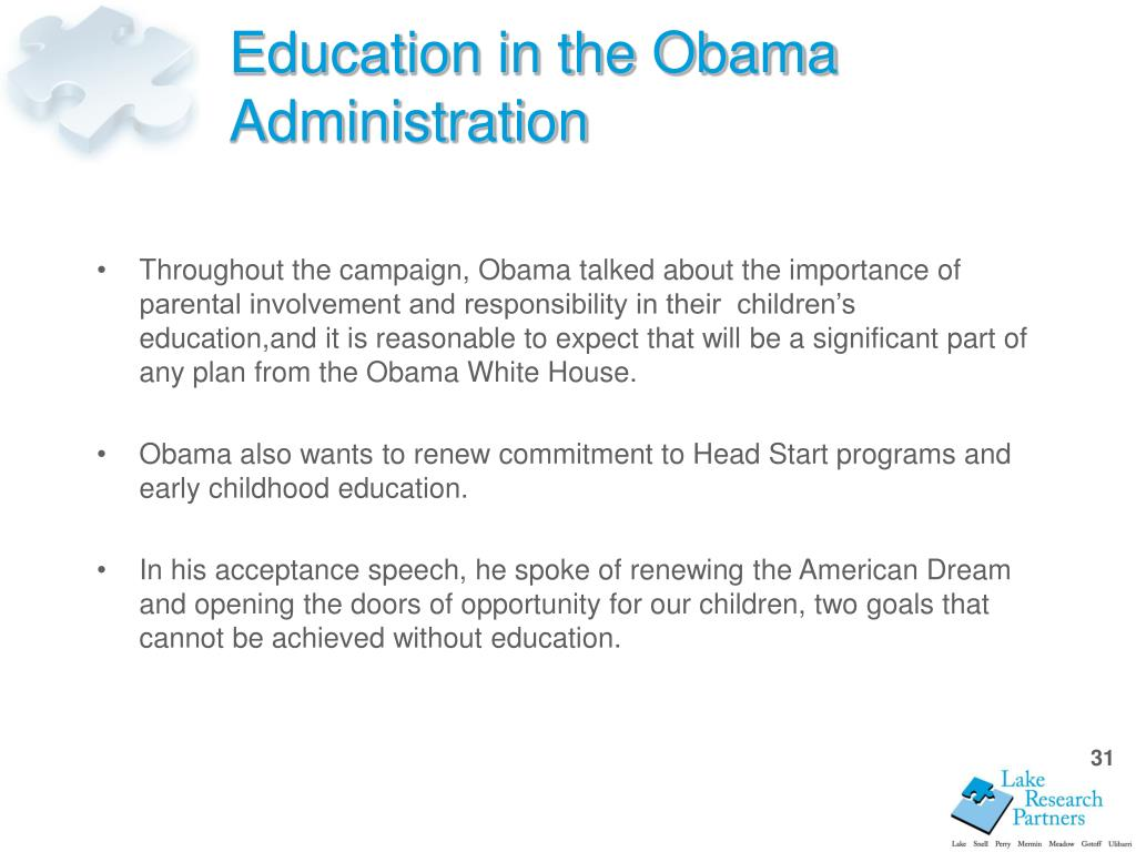 Education in the Obama Administration