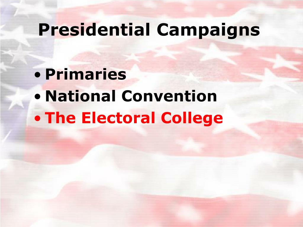 Presidential Campaigns