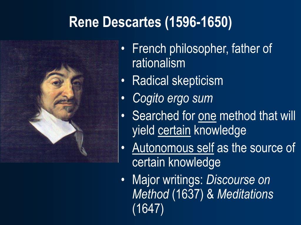 descartes and skepticism