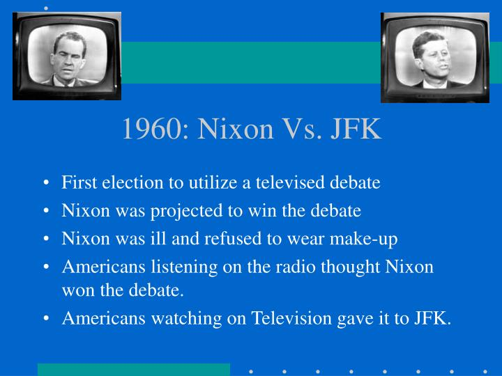 1960 nixon vs jfk