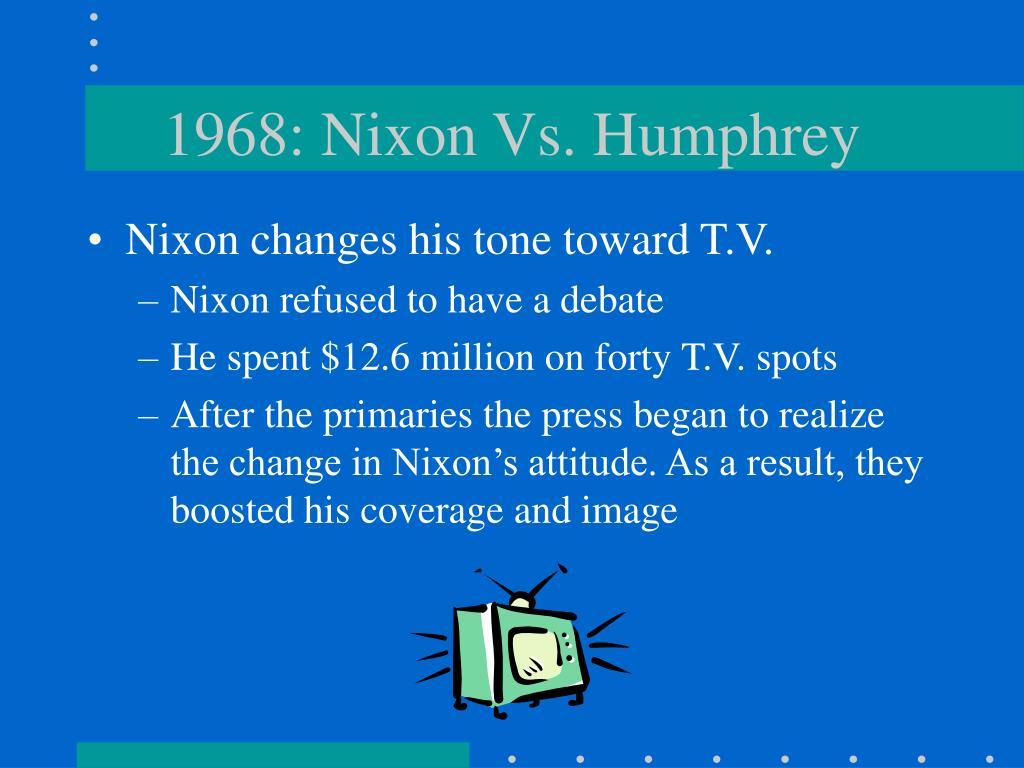 1968: Nixon Vs. Humphrey
