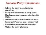 national party conventions