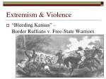 extremism violence