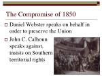 the compromise of 18507