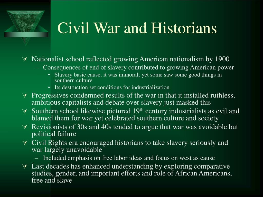 Civil War and Historians
