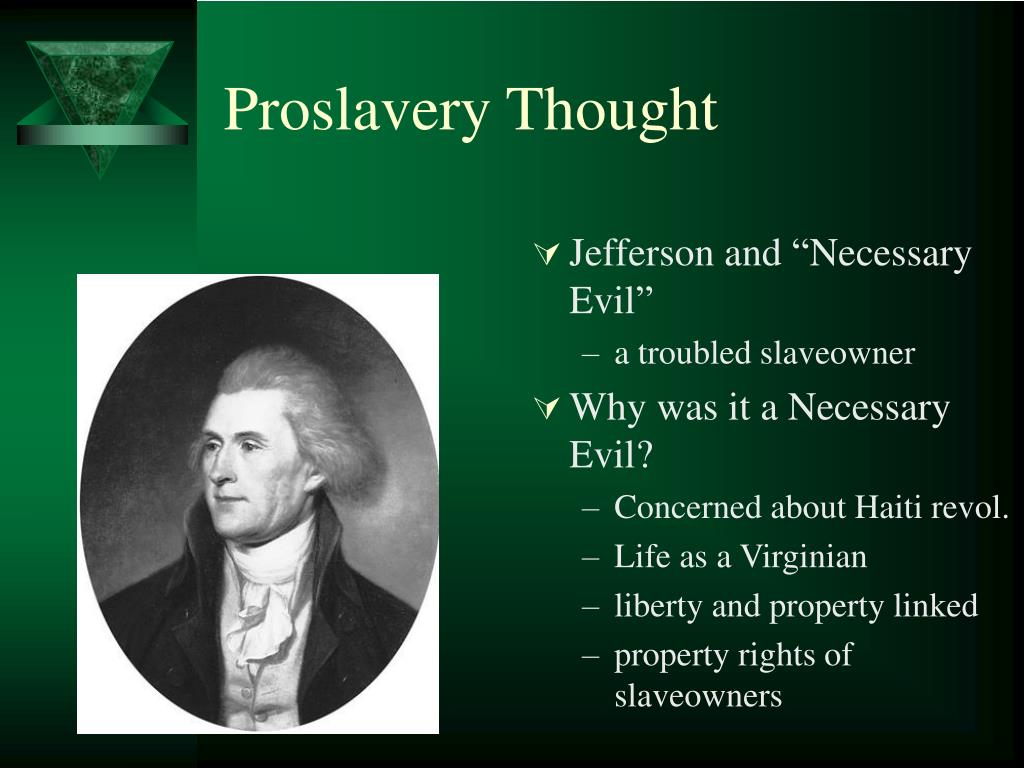 Proslavery Thought