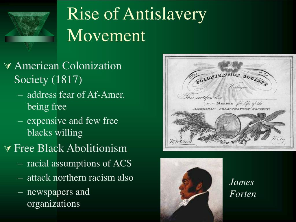 Rise of Antislavery Movement