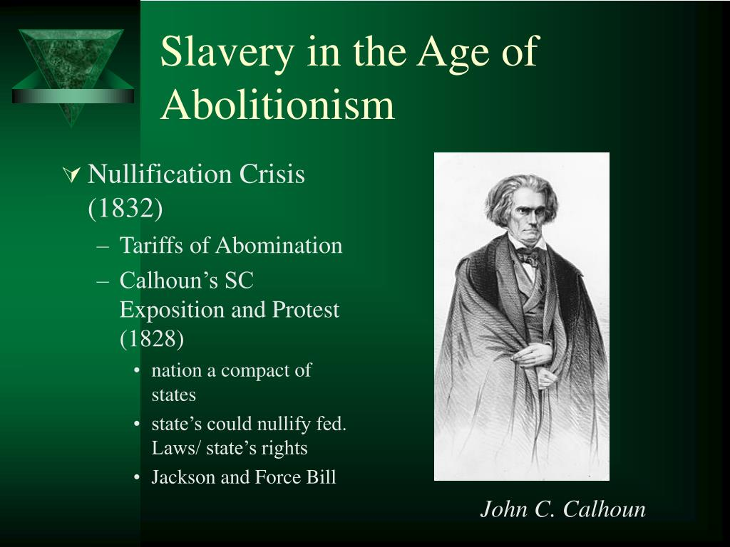 Slavery in the Age of Abolitionism