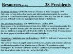 resources media 28 presidents29