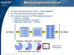 mesh implementation