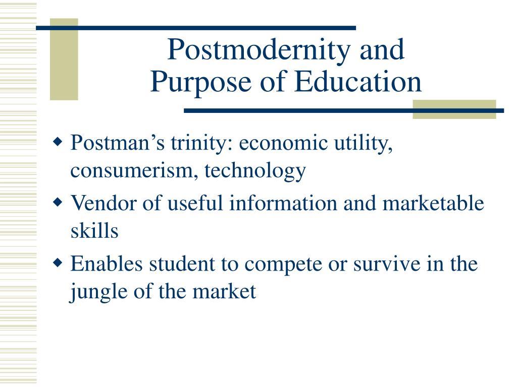 Postmodernity and
