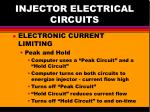 injector electrical circuits6