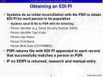 obtaining an edi pi