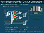 four phase decode output converter33