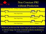 non constant pri without prediction