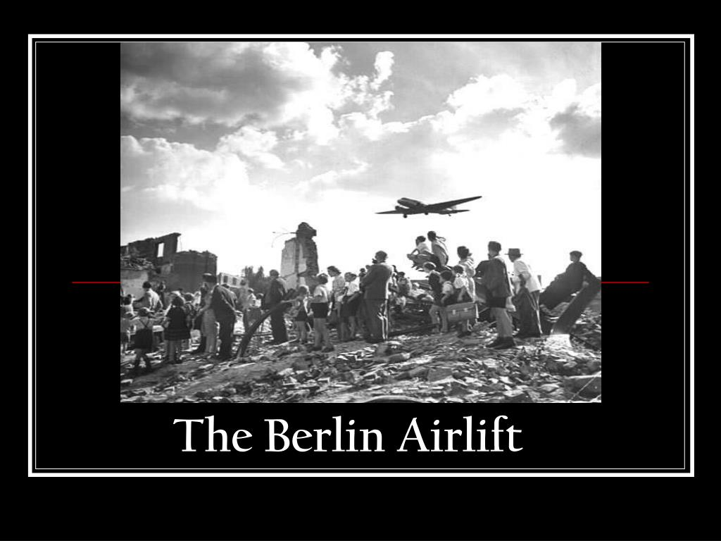 the berlin airlift l.