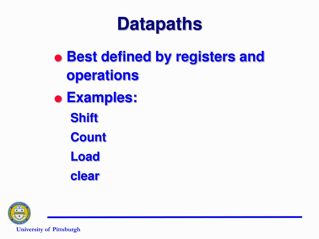 Datapaths
