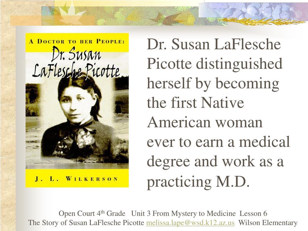 Dr. Susan LaFlesche