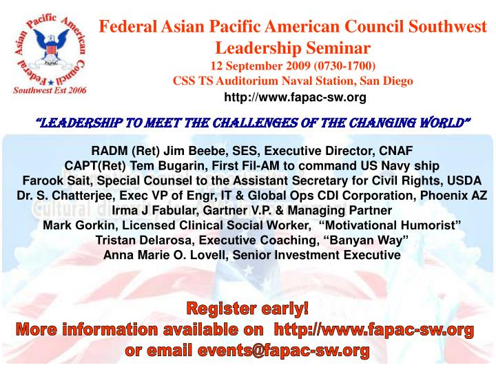 Federal Asian Pacific American Council Southwest