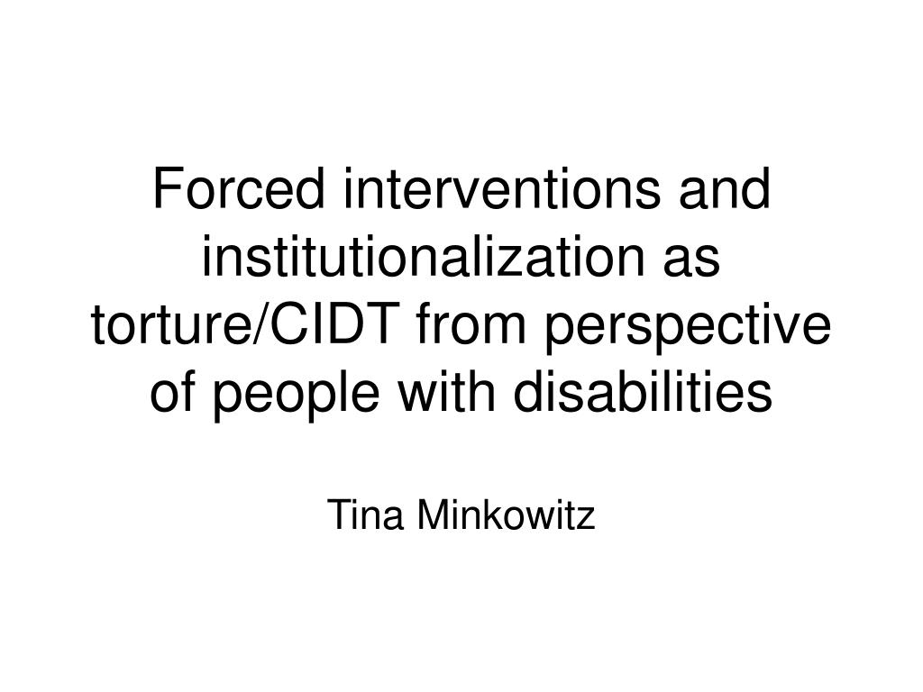institutionalization We analyze the process of institutionalization, arguing that it is the outcome of the self-reinforcing feedback dynamics of heightened legitimacy and deeper taken-for-grantedness, using.