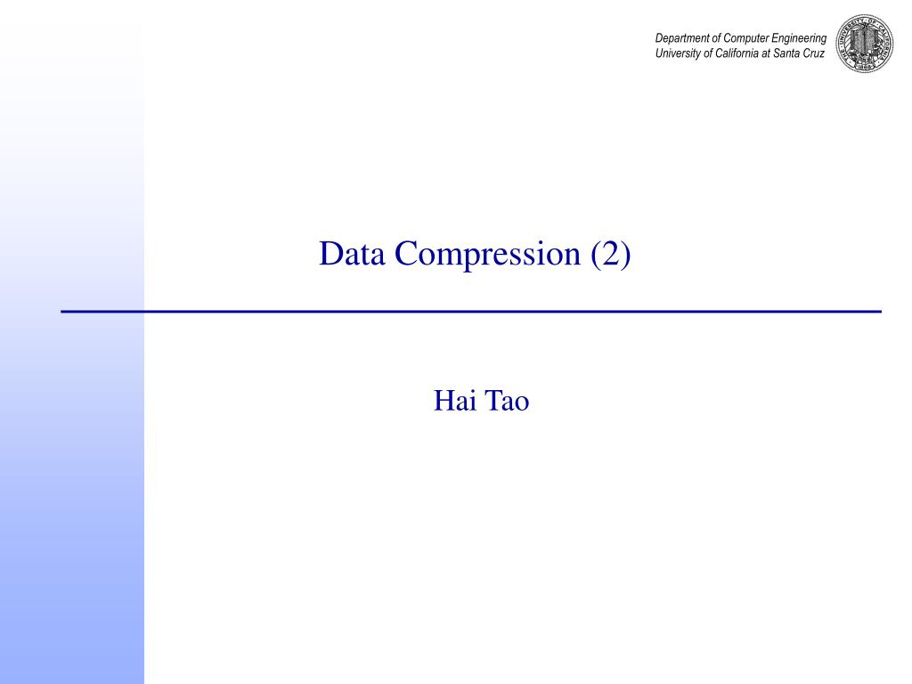 data compression 2 l.