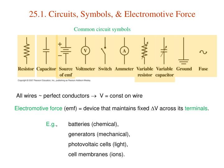 PPT - 25. Electric Circuits PowerPoint Presentation - ID:607701