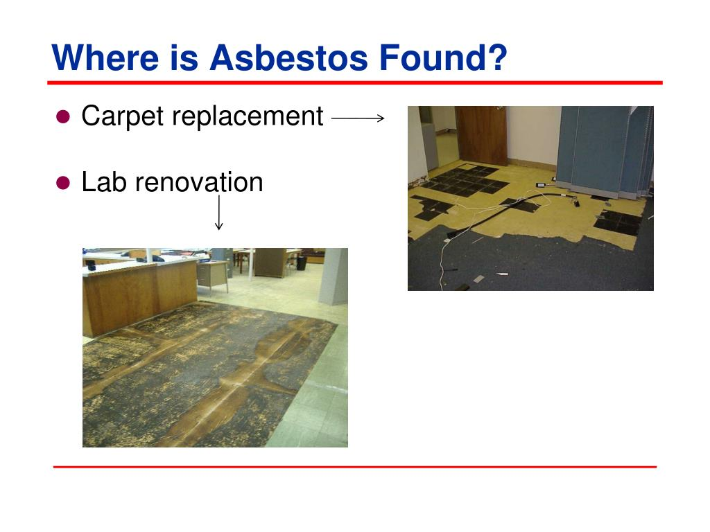 Where is Asbestos Found?