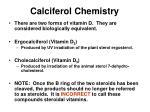 calciferol chemistry